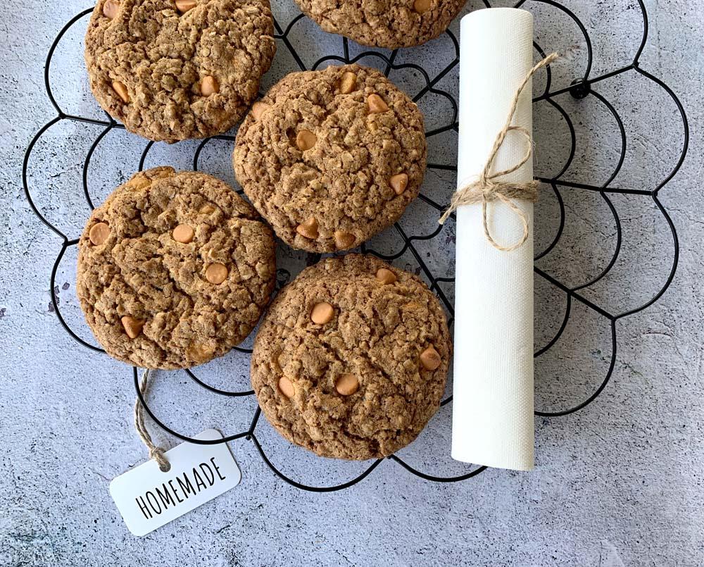 Brown Butter Butterscotch Cookies (Werbung & Freebie)