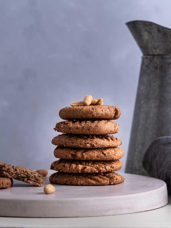 Erdnussbutter-Dattelcookies von Happy Mood Food