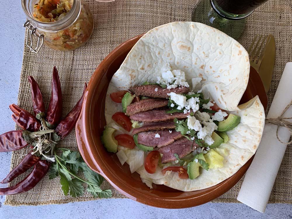 USA-Rezept für Grilled Steak Tacos