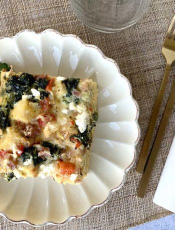 USA-Rezept für Breakfast Casserole - Auflauf zum Brunch