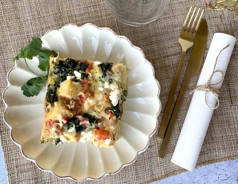 International Potluck: Breakfast Casserole (Auflauf zum Brunch)