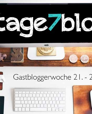 Gastbloggerwoche in deutschen Blogs, #7tage7blogs