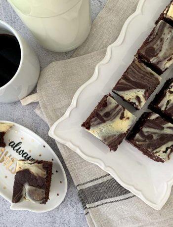 Rezept für Milchmädchen-Eierlikör-Brownies
