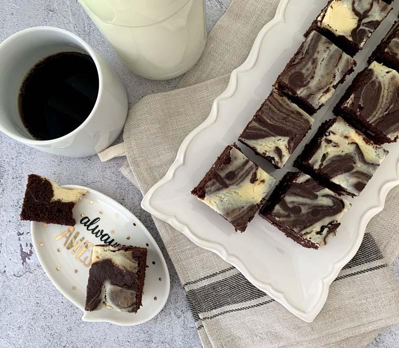 Milchmädchen-Eierlikör-Brownies