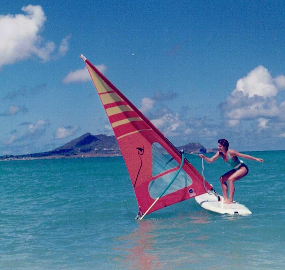 Windsurfing lernen auf Hawaii