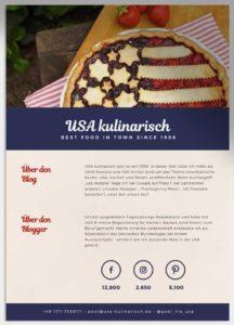 Mediakit USA kulinarisch
