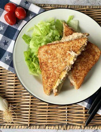 Rezept für amerikanisches Tunfischsandwich wie im Diner