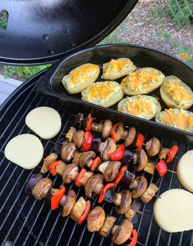Rezepte fürs Grillen mit weniger Fleisch