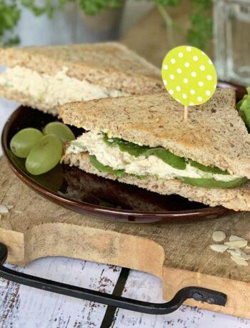 USA-Rezept für Chicken Salad Sandwich