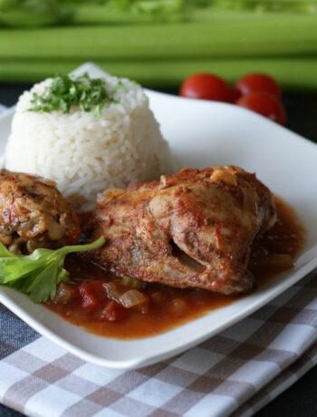 Rezept für Creole Chciken aus dem Slowcooker