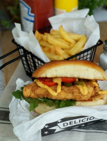 rezept für Chicken Sandwich wie von Chick-Fil-A