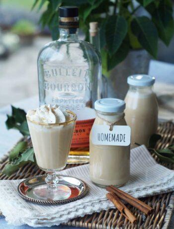USA-Rezept für Eggnog mit Bourbon