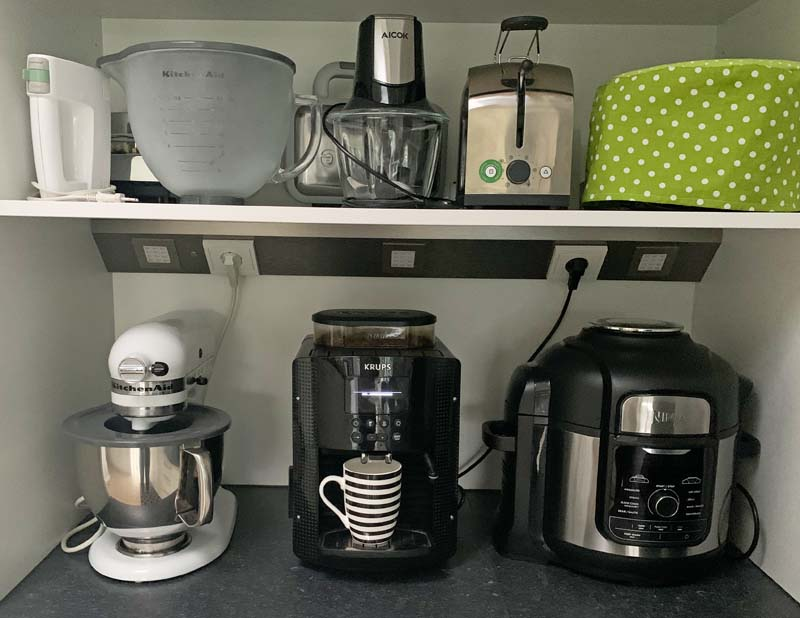 Mein Küchengeräte-Svchrnak mit Ninja Foodie und Kitchen Aid