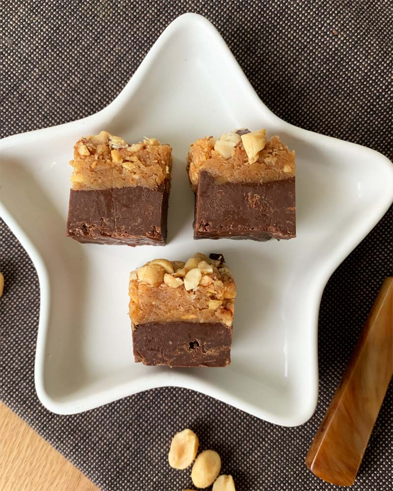 Rezept für Peanut Butter Chocolate Fudge