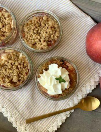 USA-Rezept für Apfelkuchen im Glas