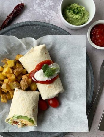 USA-Rezept für Breakfast Burritos