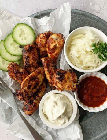 Rezept für Chicken Wings aus dem Airfryer