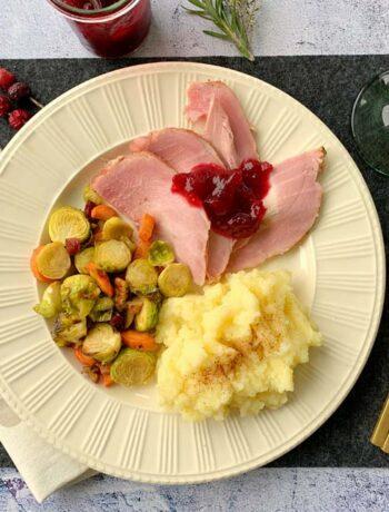 USA-Rezept für Ham mit Cranberry Sauce