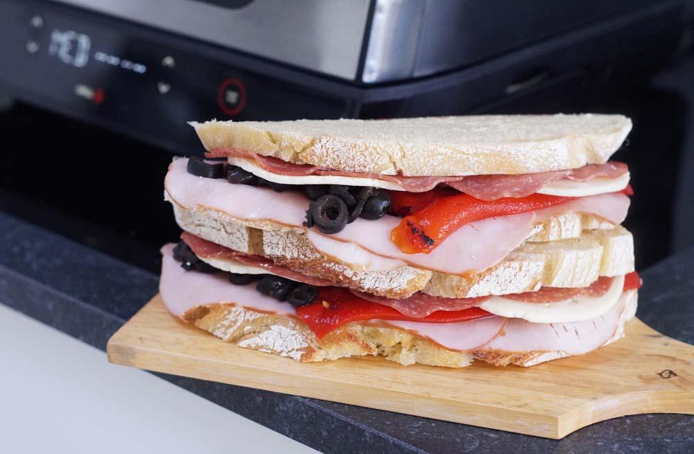 USA-Rezept für Italien Sandwich vom Grill