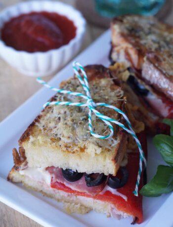 USA-Rezept für gegrilltes Italian Sandwich