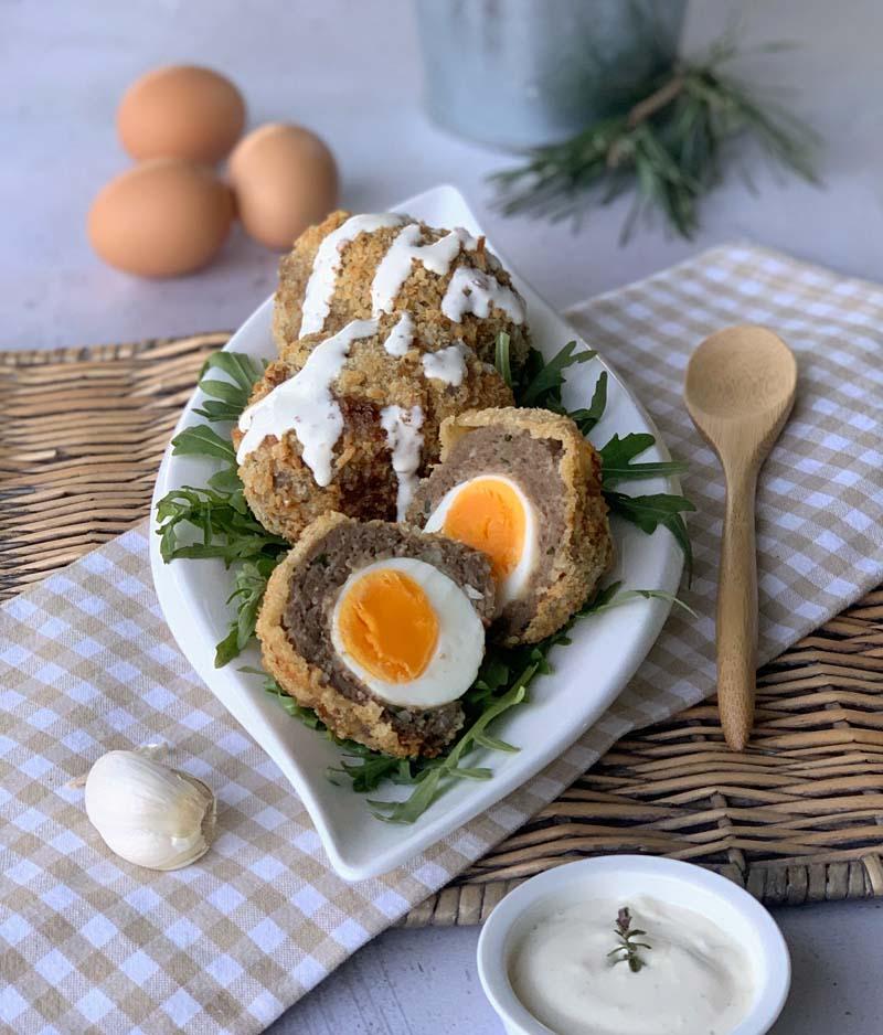 Scotch Eggs (Air Fryer-Rezept)