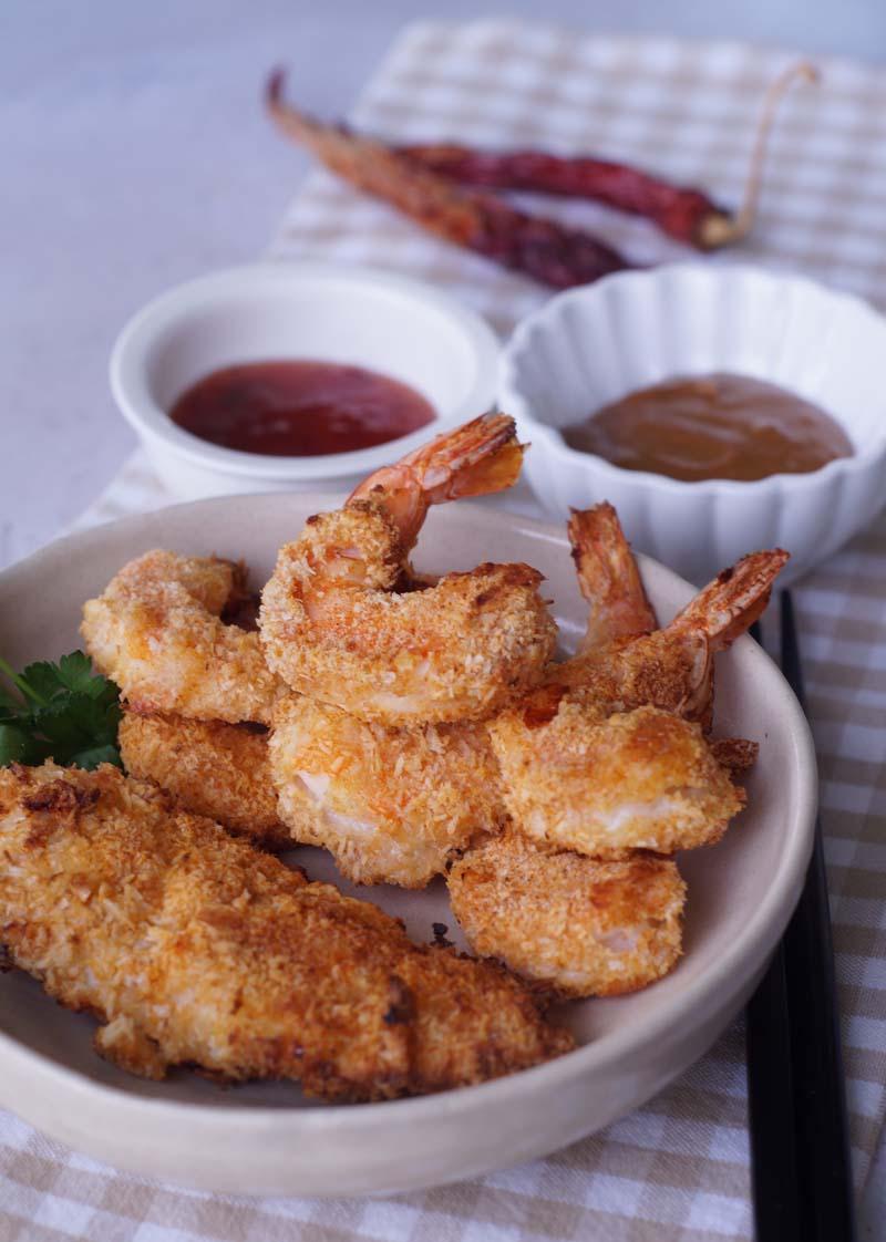 Coconut Shrimp (aus der Heißluftfritteuse)