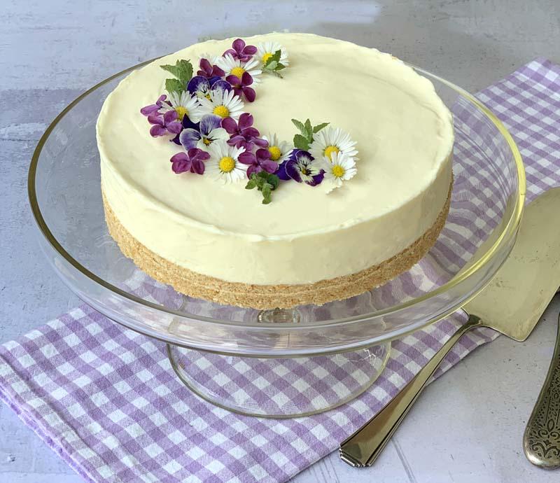 No-Bake-Cheesecake aus nur fünf Zutaten
