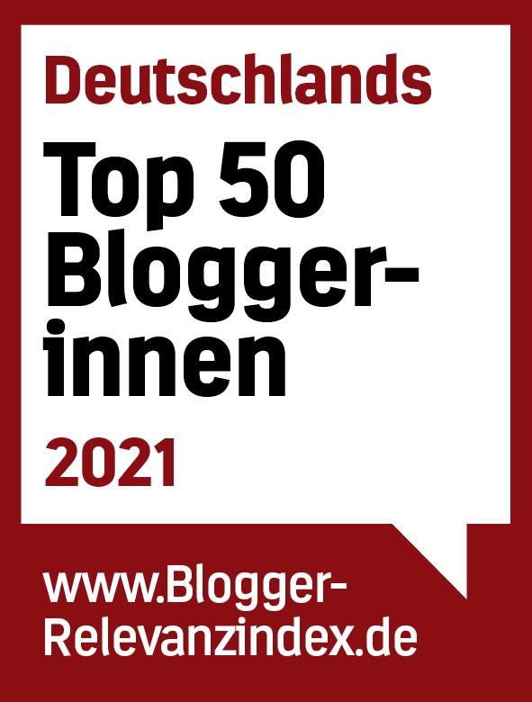 Top 50 Bloggerinnen in Deutschland 2021