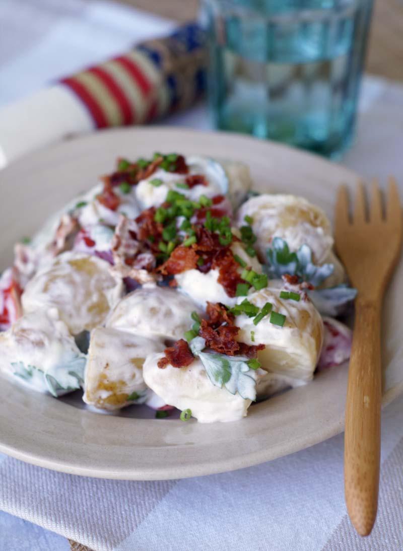 USA-Rezept für BLT Potato Salad