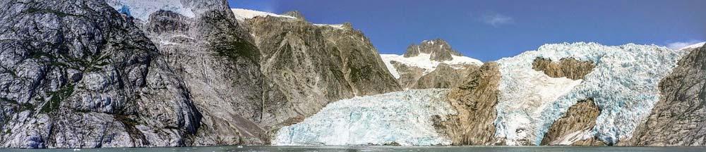 Der Kenai Gletscher