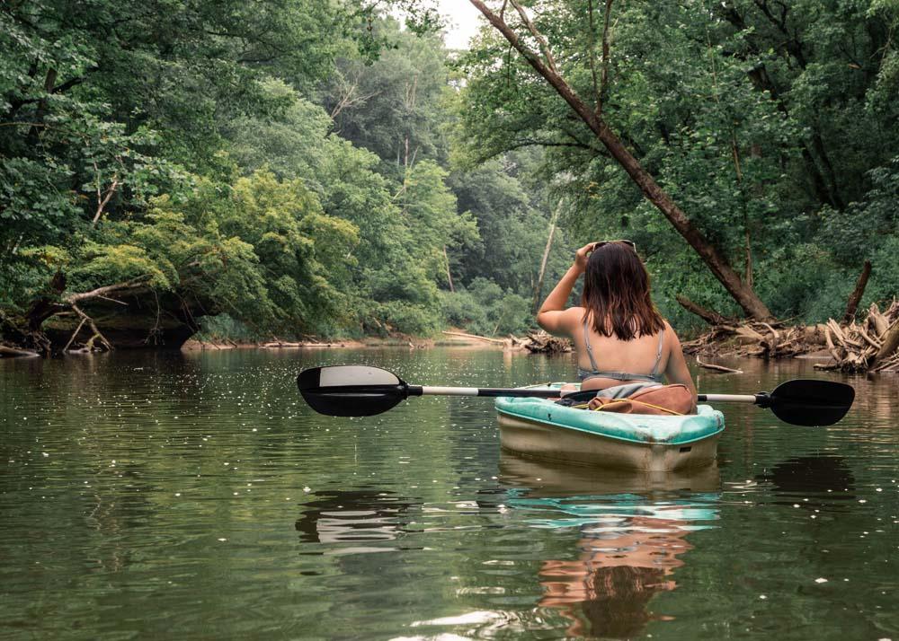 Kayaking in Kentucky