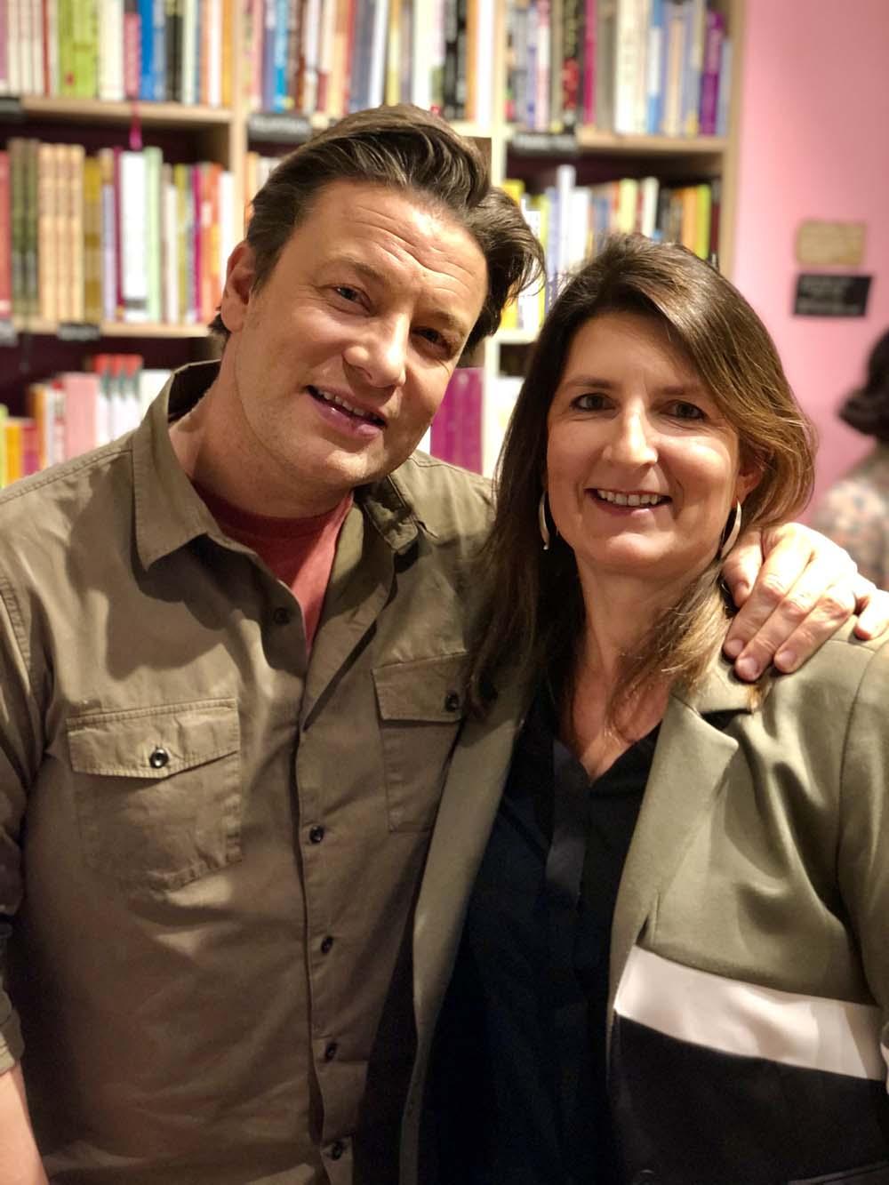 Bianca von Elbcuisine mit Jamie Oliver