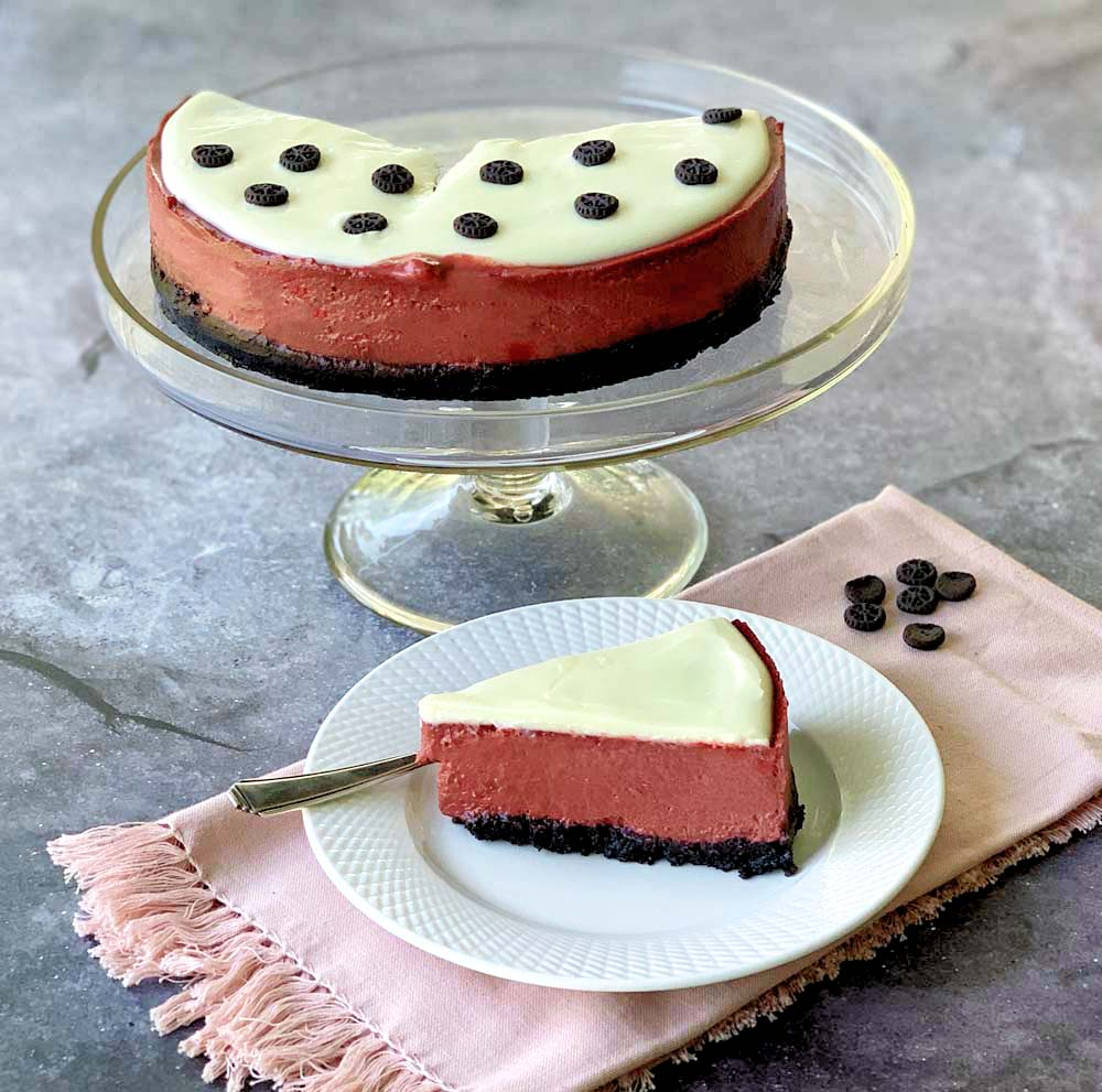 USA-Rezept für Red Velvet Cheesecake