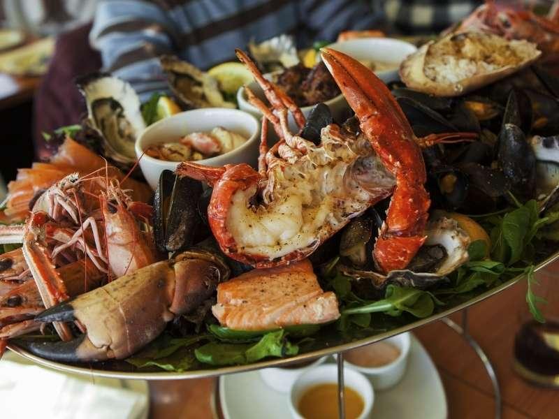 Seafood Platter in den USA