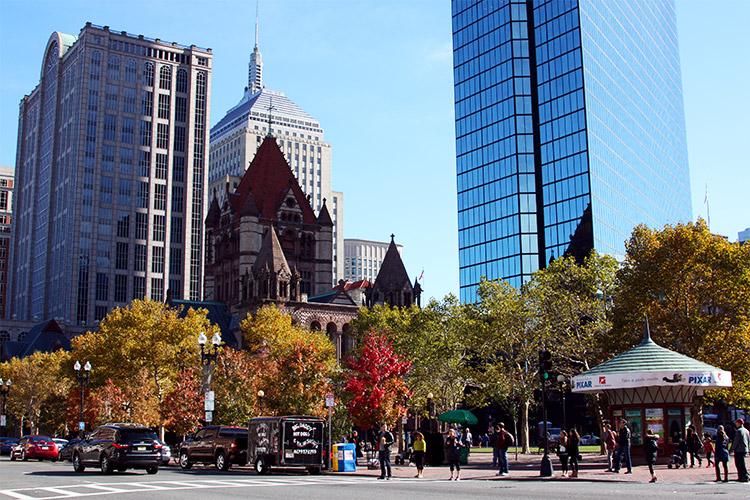 Boston im Indian Summer