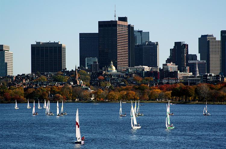 Boston im Herbst