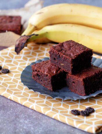 USA-Rezept für weiche Banana Fudge Brownies