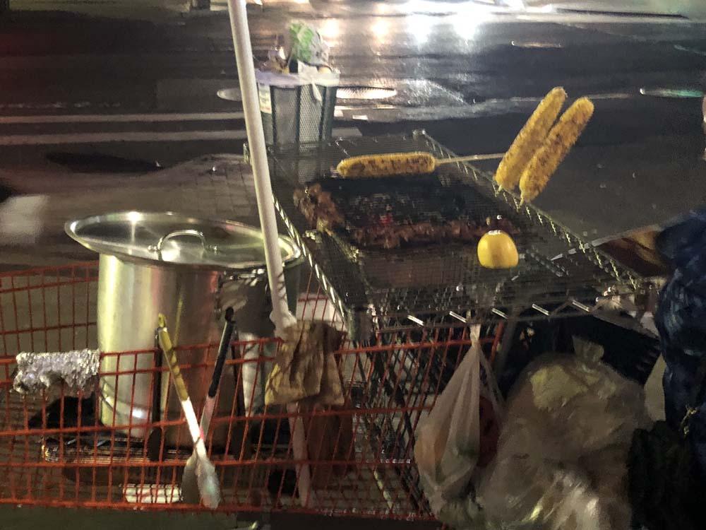 """Outdoor-Küche"" in New York"