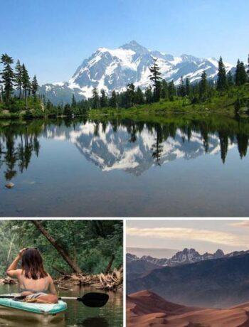 Unbekannte Nationalpark in den USA