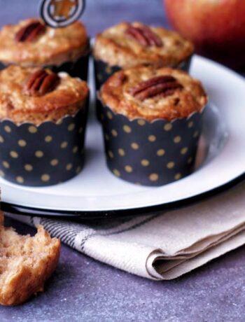 USA-Rezept für schnelle Apple Spice Muffins